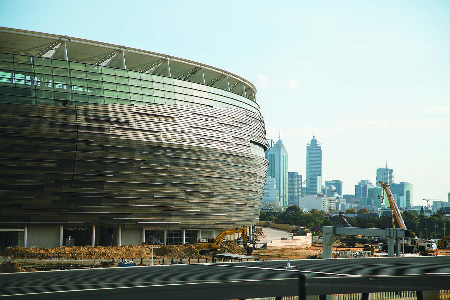 Special transport measures for perth stadium business news for Architecture firms perth