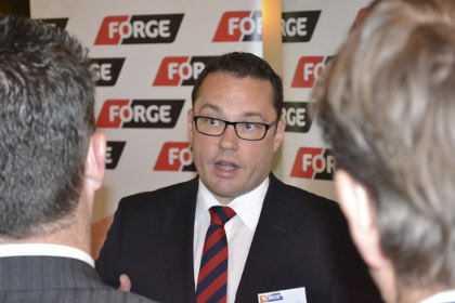 Forge reports solid jump in half year profit
