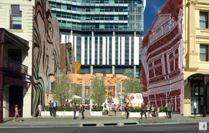 New laneway vision for one40william