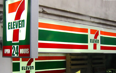 7-Eleven heading west