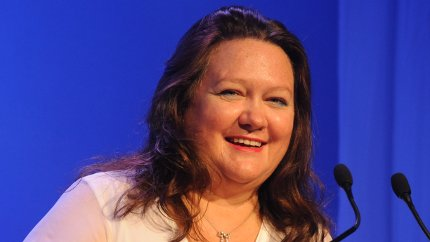 Rinehart to rank as world's richest