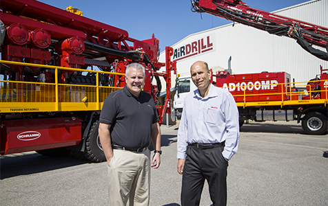Airdrill bought by global giant