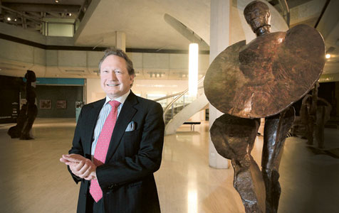 Forrest steps into WA art role