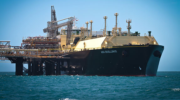 First Gorgon LNG shipped