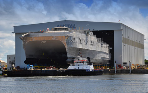 Austal cashing in on US contracts