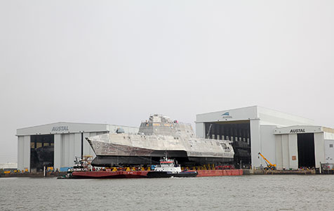 Navy deal lifts Austal order book to record high