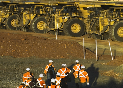 BHP production outperforms Rio