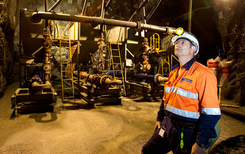 Gold Fields signs Barminco at Agnew mine
