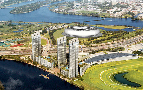 Property players target sporting venues