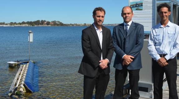 Wave energy sets up in Swan River