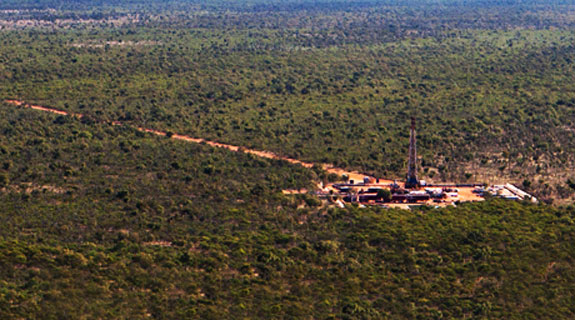 Ungani oilfield officially opened
