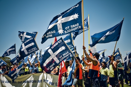 Unions, industry clash on mine labour