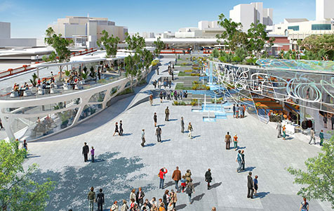 City Square to rival Melbourne's Fed Square