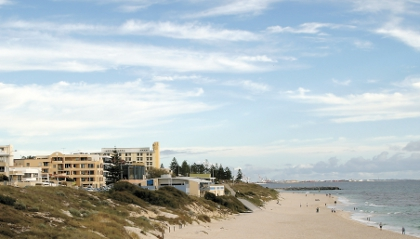 Eight-storey reality for Cottesloe Beach