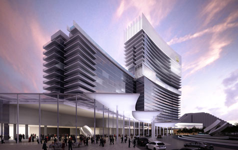 Brookfield Multiplex to build Crown Towers