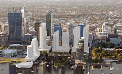 First land release at Elizabeth Quay