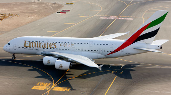 Emirates brings A380 to Perth