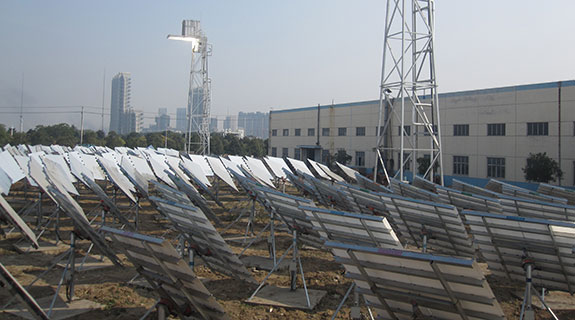 Solar thermal project heats up again