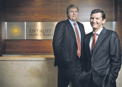 Entrust, Vernon part ways