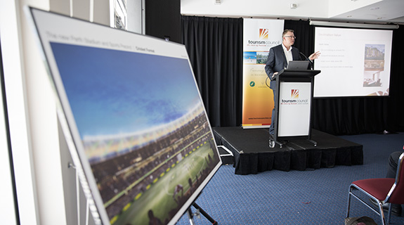 Stadium to bring in $291m