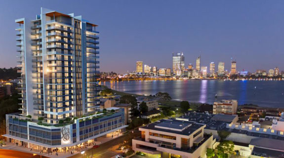 73 South Perth apartments sold in one weekend