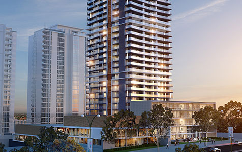 Perth's tallest apartment tower wins approval