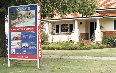 Established home sales stall post-GFC: REIWA