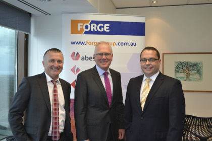 Forge expecting big jump in profits