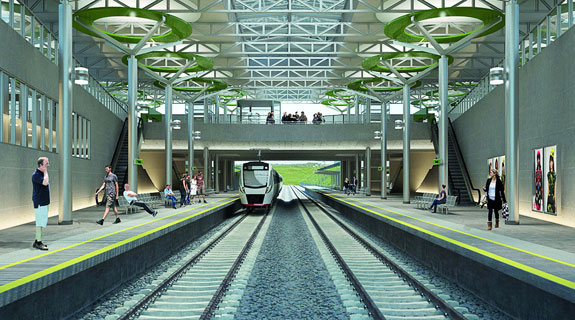 Contractors line up for $2bn airport rail link