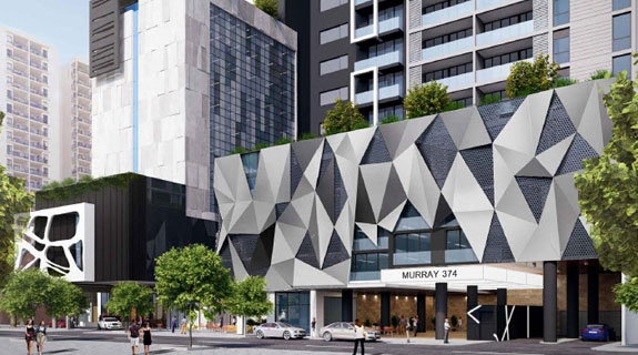 Murray St hotel, apartments win approval