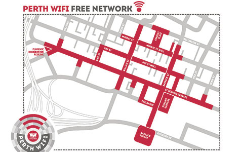 City of Perth lags on WiFi service