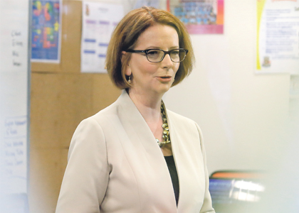 Gillard going for a record five in five