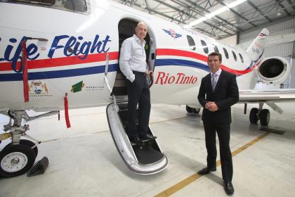 Rio's $6m keeps RFDS jet in the air