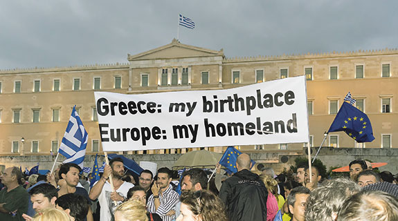 Succour no more, Europe tells Greece