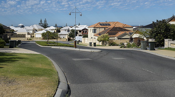 Perth home prices fall again