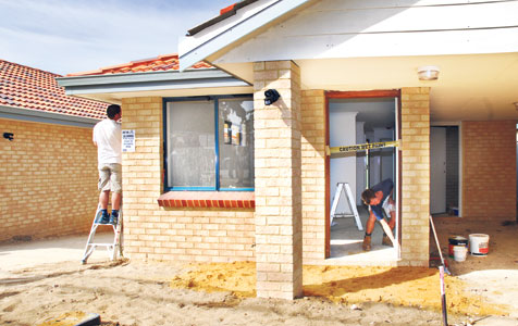 Building approvals steady in west, declining elsewhere