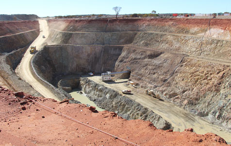 Signs of life for battling gold miners