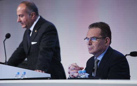 BHP pushes demerger at London AGM