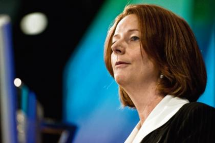 Gillard and Swan remain after challenge evaporates