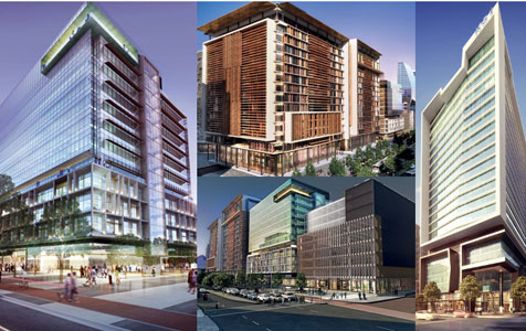 Institutional investors target new city office projects