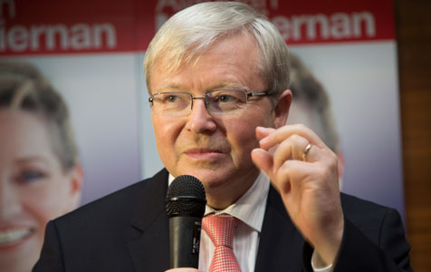Rudd not asked to 'own' his role