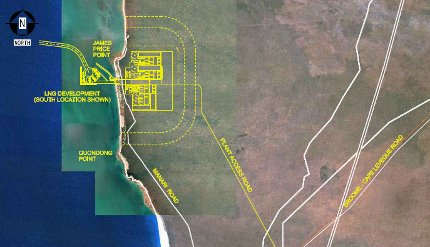 Browse LNG hub location decided