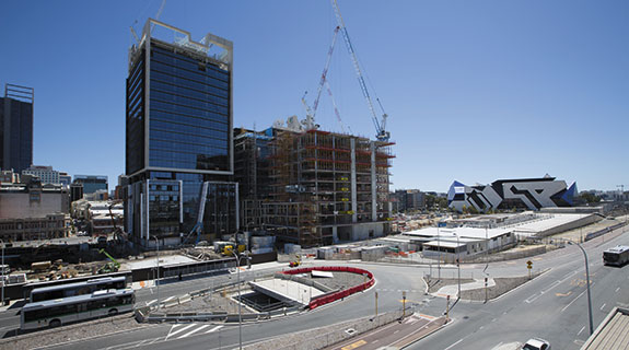 Apartment developers push on