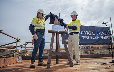 Fortescue opens Kings Valley project