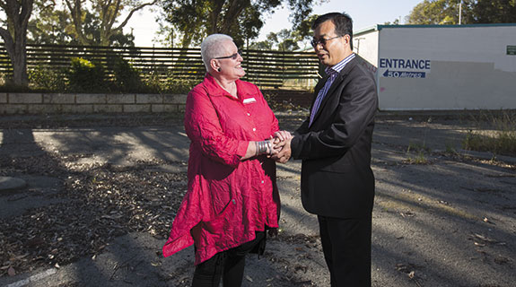 Chinese developer wins big infill job