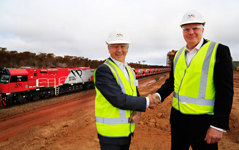 Mineral Resources launches $70m rail fleet