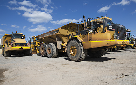 Mining slowdown drives record auction results
