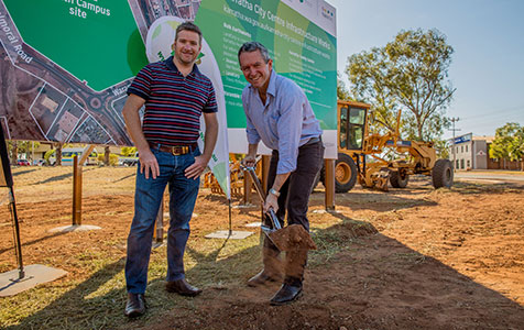 Work begins at Karratha Health Campus