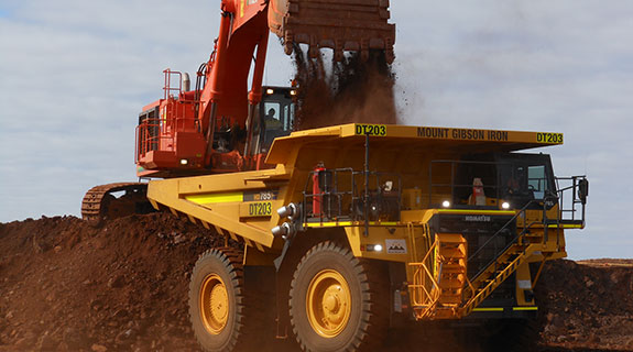 Mt Gibson posts $870m loss