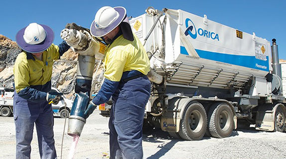 Orica profit dips on lower demand